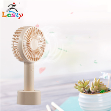 Rechargeable student portable dormitory ultra-quiet hand-held usb fan