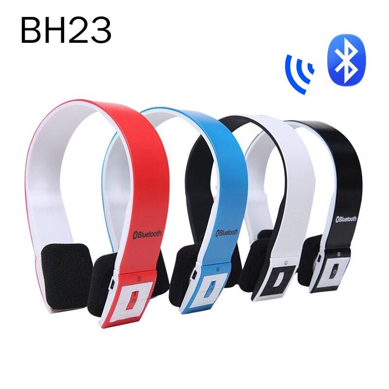 BH-23 Wireless Headphone & Bluetooth Headset Wireless Earphone with MIC For iPhone iPad iPod Smart Phone Tablet PC Free shipping bh 23 wireless headphone