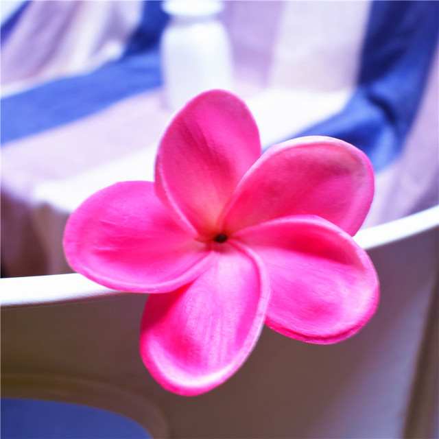 20pcs natural real touch hot pink fuchsia artificial frangipani 20pcs natural real touch hot pink fuchsia artificial frangipani plumeria flower heads for cake decoration mightylinksfo