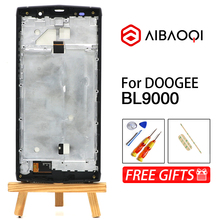 AiBaoQi Nuovo Originale Touch Screen da 5.99 pollici + 2160x1080 Display LCD + Telaio di Montaggio di Ricambio Per Doogee BL9000 android 8.1 Del Telefono