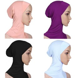 Sale 15 Colors Full Cover Women Muslim Cotton Hijab Islamic Underscarf Shawls And Hijabs Comfortable