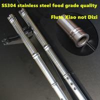 SS304 Metal Flute Xiao not Dizi 80cm G/ F Key Xiao Flute Transverse Flute Professional Metal Flautas Xiao Self defense Weapon