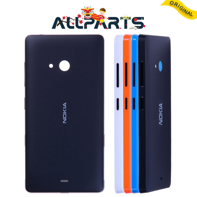new product 61087 58473 US $8.3 |Warranty Housing For Nokia Microsoft Lumia 540 Back Cover Case  Battery Rear Door with Adhesive For Nokia Lumia 540 Battery Cover-in Mobile  ...
