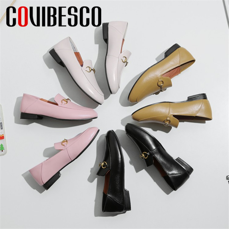 COVIBESCO 2019 New Classic Square Toe Low Heels Basic Women Pumps Office Lady Single Shoes Woman Slip on Loafers Party ShoesCOVIBESCO 2019 New Classic Square Toe Low Heels Basic Women Pumps Office Lady Single Shoes Woman Slip on Loafers Party Shoes