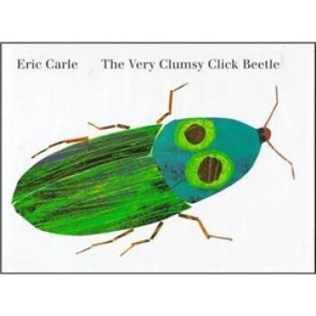 Le très maladroit coléoptère Eric Carle livres enfants bébé apprentissage anglais matériel escolar numeros y alfabeto