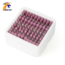 Tungfull Drill Attachment 100 Pcs/Box Assorted Ceramic Mounted Point Grinding Stone Head Wheel Dremel Drill Rotary Tools