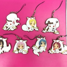 7 pcs/lot Anime Magical Girls Puella Magi Madoka Magica Figu