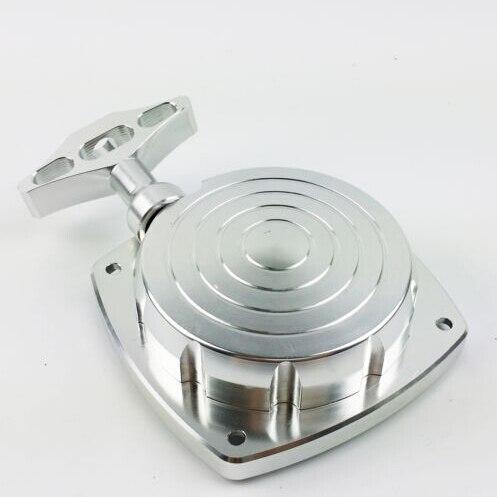 1/5 échelle Rovan CNC en aluminium démarrage par traction, démarreur s'adapte à Baja 5 T 5SC 5B CY Zenoha