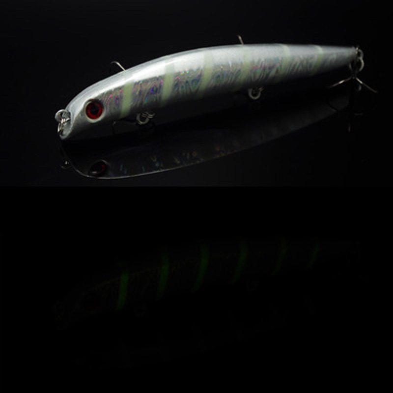 Night Glow In Dark Fishing Lure Hard Bait Minnow Pencil Tongueless 9g/18g Japan Ima Same Design Mustad Hook night glow in dark fishing lure hard bait minnow pencil tongueless 9g 18g japan ima same design mustad hook