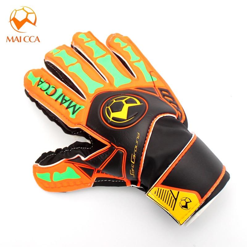 Kids Men Soccer Football Goalkeeper Gloves Size 5 6 Finger Save Protect Guard Goalie