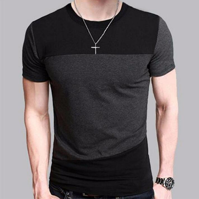марка 2018 мужской короткий рукав футболка