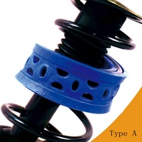 Car Auto Type A Rubber Buffer Shock Absorber Spring Bumper Power Cushion Buffer Shock Absorption Protect Suspension