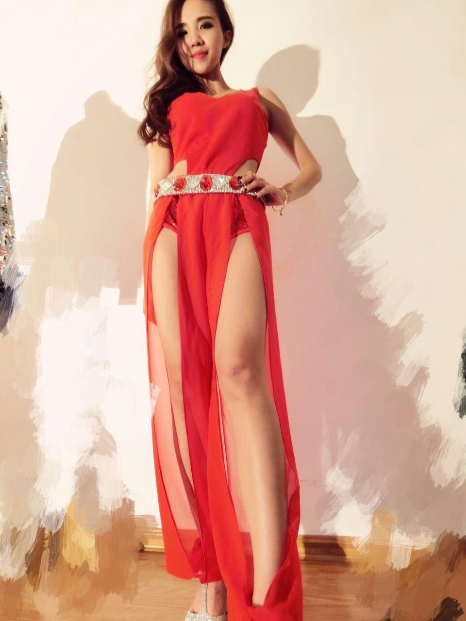 Aliexpress.com : Buy 2016 women sexy red rhinestone blet sequin jumpsuit  female singer DJ DS dance stage costume bodysuit nightclub show clothing  set from ... - Aliexpress.com : Buy 2016 Women Sexy Red Rhinestone Blet Sequin