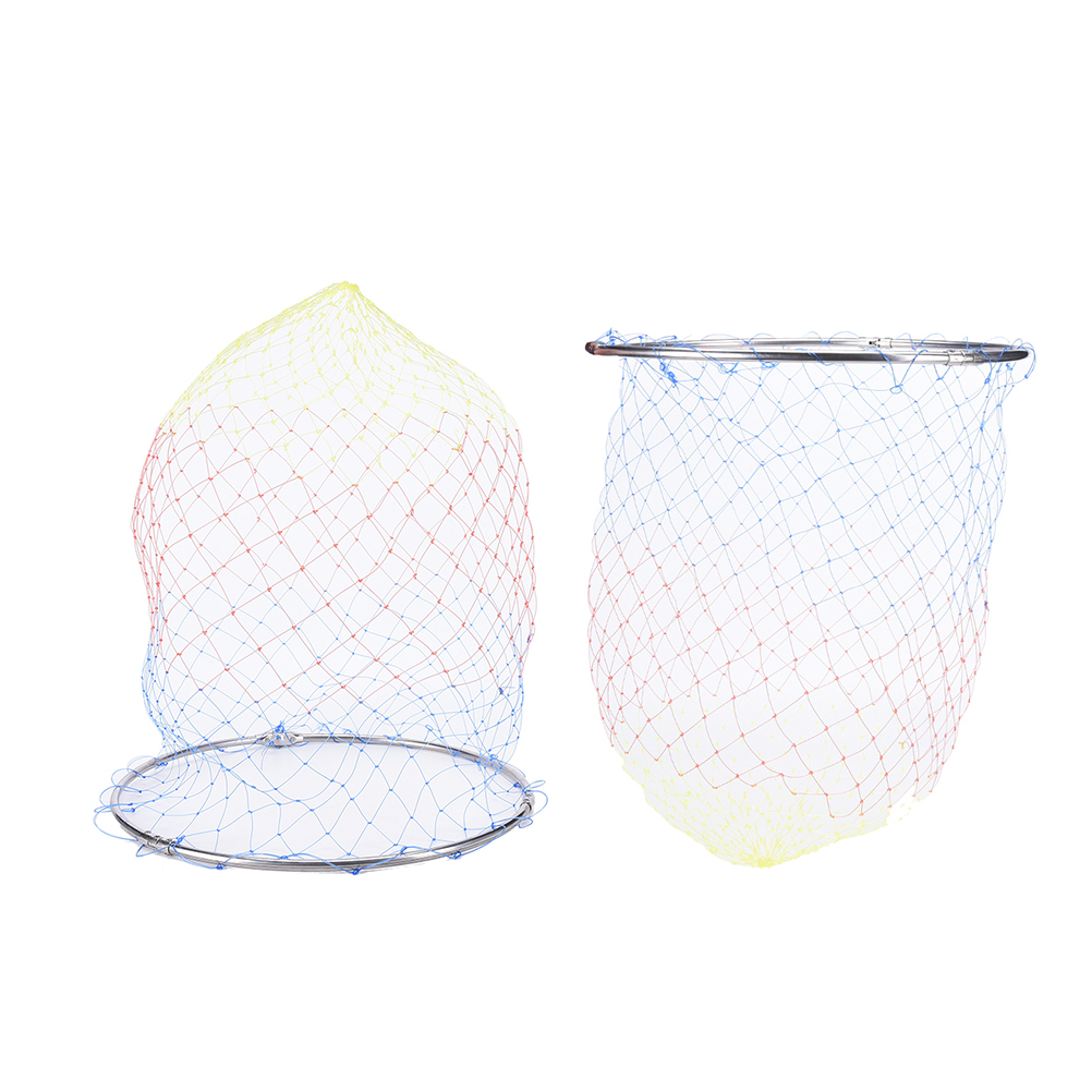 1PC Fly Fishing Landing Nylon Net Mesh Trout Catch and Release Net with Handle Brail Net Drop shipping