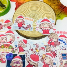 40 Pcs/lot Anime christmas girl Scrapbooking Stickers Car Case Waterproof Laptop Bicycle kids toys Backpack waterproof Sticker