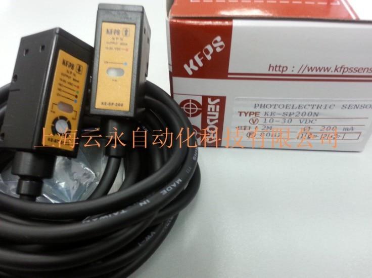 new original KE-SP200N  Taiwan  kai fang KFPS photoelectric sensor new original taiwan s yangming fotek new original photoelectric switch reflector mg 2mx mr 1 sensor