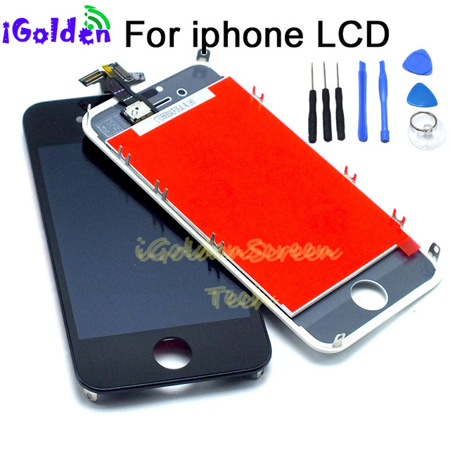 new style 44ccb 8347c US $12.78 5% OFF LCD Display For iPhone 5g 5S 5 S 5C 6 6g 6 Plus Touch  Screen Replacement LCD AAA+Quality 100% No Dead Pixel Black White -in  Mobile ...