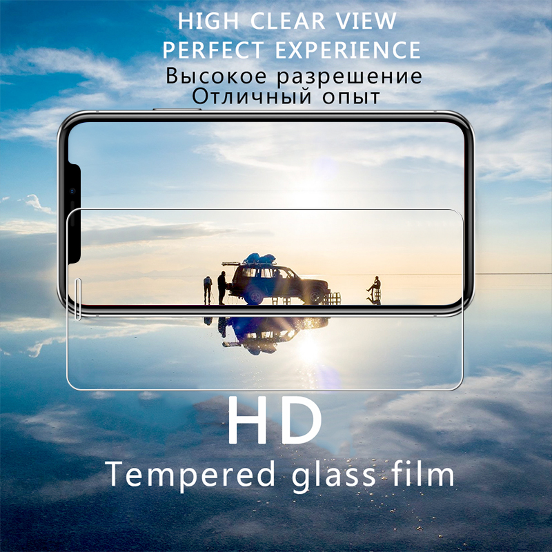 Image 3 - BLOSSOM 9H High quality Tempered Glass for iPhone X glass for iPhone X Protective Glass for iPhone X screen protector glass film-in Phone Screen Protectors from Cellphones & Telecommunications