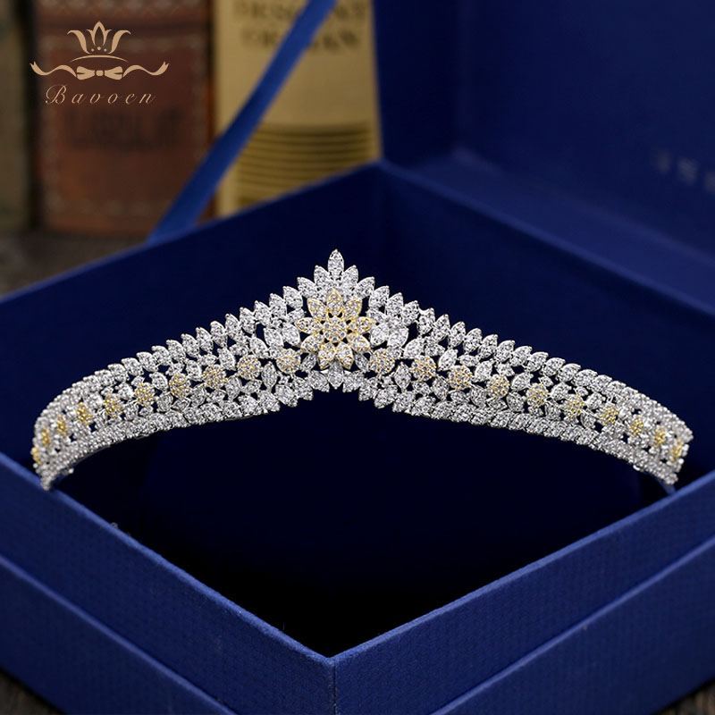 Top Quality European Flower Zircon Wedding Hairbands Silver Crystal Tiaras Crowns Wedding Hair Accessories Birthday Gift цена