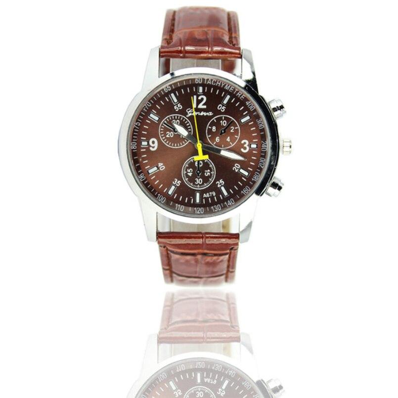 New Arrive 2018 Luxury Brand Design Casual Watches Leather Watch Men Quartz Watch Male Wrist Watches Relogio Masculino gift