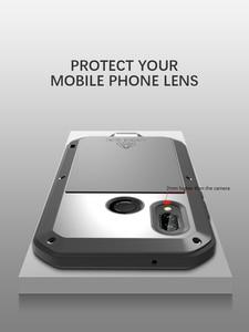 Image 5 - Gorilla glass film gift) LOVE MEI Metal Waterproof Case For Huawei P20 Lite 5.84 Shockproof Cover For huawei Nova 3E cover capa