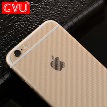 GVU Carbon Fiber 3D Soft Film For iPhone 6 6 Plus Film Scratch-protection Back Film For iPhone 7 7 8 Plus Anti-Fingerprint