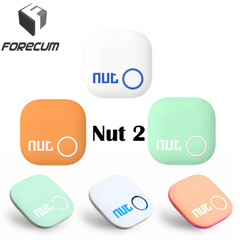 FORECUM Nut 2 key Finder Smart Bluetooth Wireless GPS locator Nut2 Anti-lost Tracker Sensor Alarm Detector for Child Bike Pet new 1pcs led light torch remote sound control lost key finder locator locator keychain keyring with whistle claps