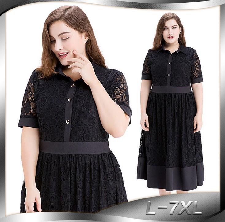 Sexy grande taille femmes vêtements Vestido grande taille robes décontracté doux dentelle robe moulante robe Sexy Ropa Mujer femmes