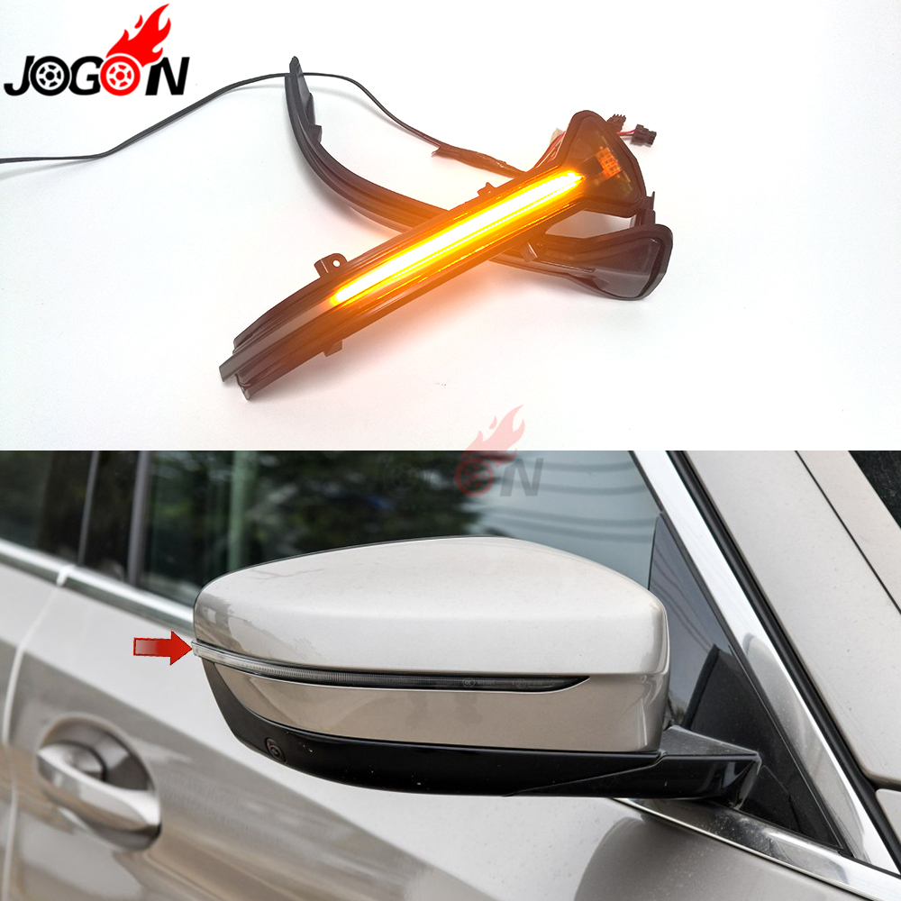 LHD For BMW 3 5 6 7 8 Series G20 G30 G31 G32 G11 G12 G14 G15 M5 F90 Side Mirror Indicator Dynamic Turn Signal Light Sequential