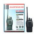 Dual Band Rádio em Dois Sentidos baofeng BF-888S Walkie Talkie 5 W Handheld Pofung bf 888 s Rádio em Dois Sentidos 400-470 MHz UHF rádio scanner