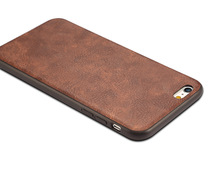 Vintage PC Leather phone Case for IPhone