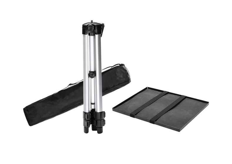 SOMITA 618 soporte de proyector de aleación de aluminio portátil trípode proyector de aterrizaje telescópico trípode bandeja cd50 - 5