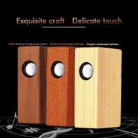 Wireless Bluetooth Speaker Wood Portable Mini Speaker Subwoofer Bluetooth Column Sound Music Surround Desktop for Cell Phone