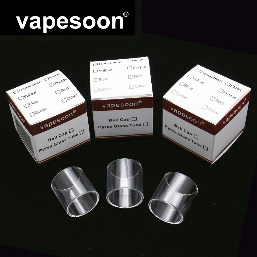 Original Vapesoon Pcs Lot Replacement Glass Tube For Desire Mad Dog Gta Mm Atomizer In Electronic Cigarette Accessories From Consumer Electronics
