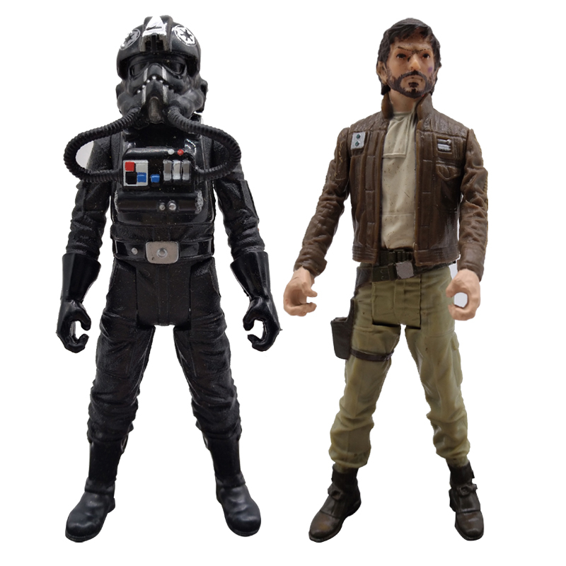 3.75 Star Wars Rogue One Tie Fighter Pilot Figure Imperial Trooper Action Figure Model Stormtrooper Toys for Children Gift