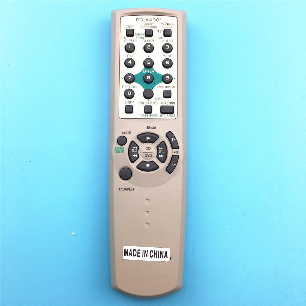 remote control suitable for AIWA tv AV SYSTEM Audio power amplifier RC-AAR03 CONTROLLER DVD PLAYER