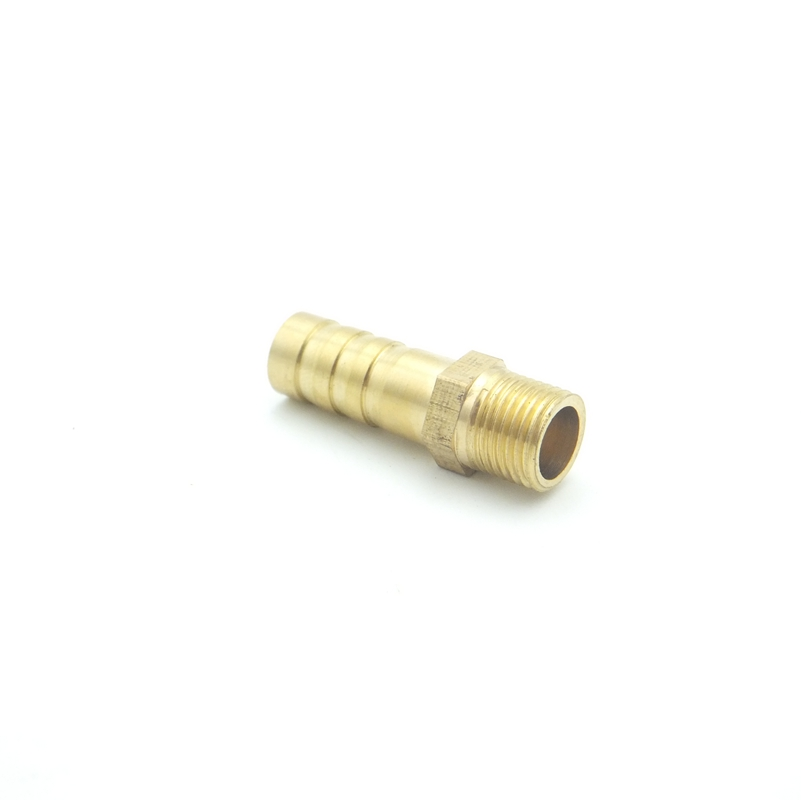 5pcs Hose Barb I//D 8mm x M8x1.25 Male Brass coupler Splicer Pipe Fitting Adapter