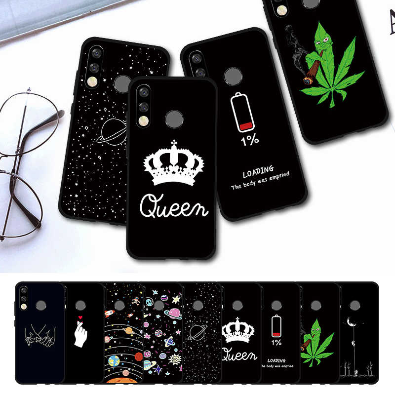 Cute Phone Case For HUAWEI P Smart 2019 Y9 Y6 Y7 Pro 2019 Y5 Y6 Y7 Prime 2018 P30 Lite Mate 20 Pro P Smart Plus TPU Cover Capa