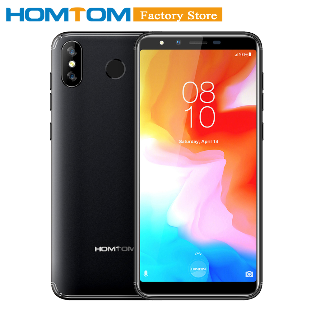 HOMTOM H5 3GB 32GB 3300mAh Fast Charge Mobile Phone 5 7inch HD Face ID 13MP Camera