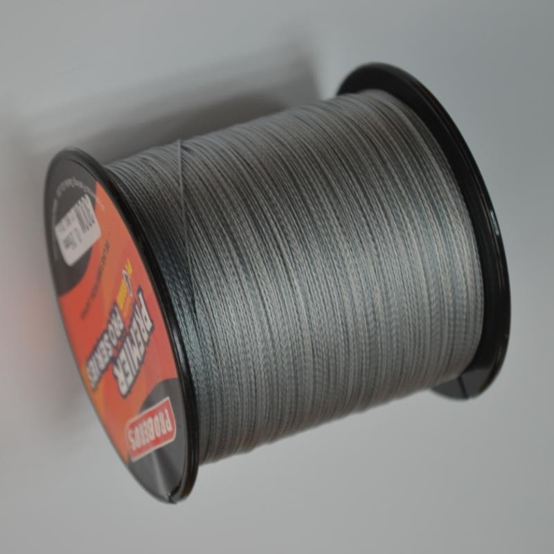 PRO BEROS 300M PE Multifilament Braided Fishing Line Super Strong Fishing Line Rope 4 Strands Carp Fishing Rope Cord 6LB - 80LB dagezi super strong 4 strand 300m 330yds 100% pe braided fishing line 10 80lb multifilament fishing line carp fishing saltwater