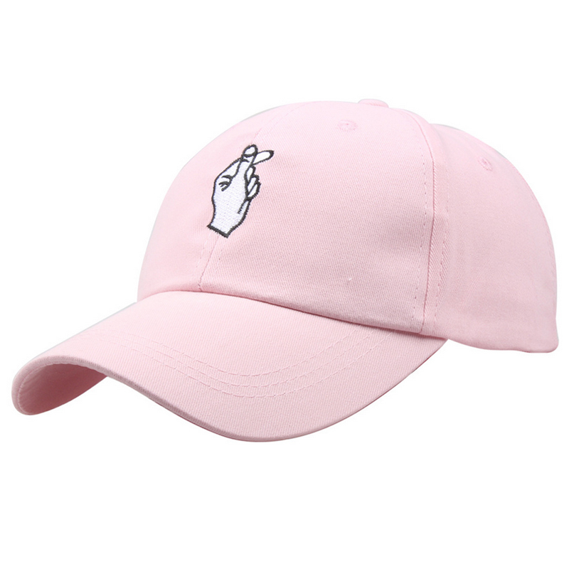 b8d24492 GD 1Pcs Love Gestures Finger Embroider Golf Baseball Cap Men Women Snapback  Hats Flipper Little Heart Love Sun Truck Hat Gorras