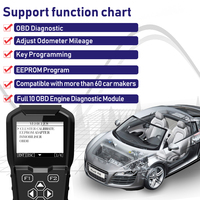 2019 OBDPROG MT601 Car Key Programmer Mileage Odometer Correction Tool EEPROM Pin Code Reader Full OBD2 Diagnostic Replace X100
