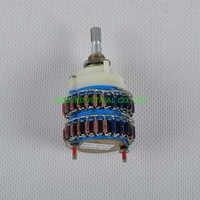 1pc 4 polos 24 paso DALE atenuador de volumen olla potenciómetro para estéreo 500KY amplificador de tubo para audio