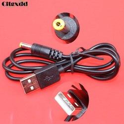 Cltgxdd 10 ~ 20 sztuk USB 2.0 wtyk męski Port do 4.0*1.7mm 4.0x1.7mm 5V DC gniazdo lufy ładowarka przewód zasilający złącze kabla długość: 0.8m