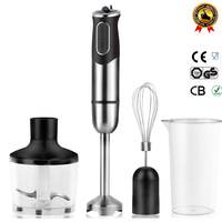 800W Multifunctional Electric Stick Blender Mixer Hand Blender Egg Whisk Mixer Juicer Meat Grinder Food Processor