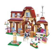 Bela 10562 Heartlake Riding Club 41126 Building Block Model Toys for Children Compatible with girl Friends Series Bricks