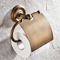 Bathroom accessories Bathroom brass paper holder toilet roll holder wall paper hanger