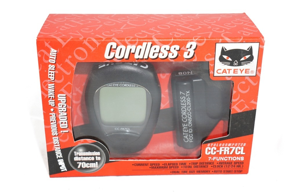 Cateye cordless 7 cc fr7cl owners manual manualslib makes it easy.