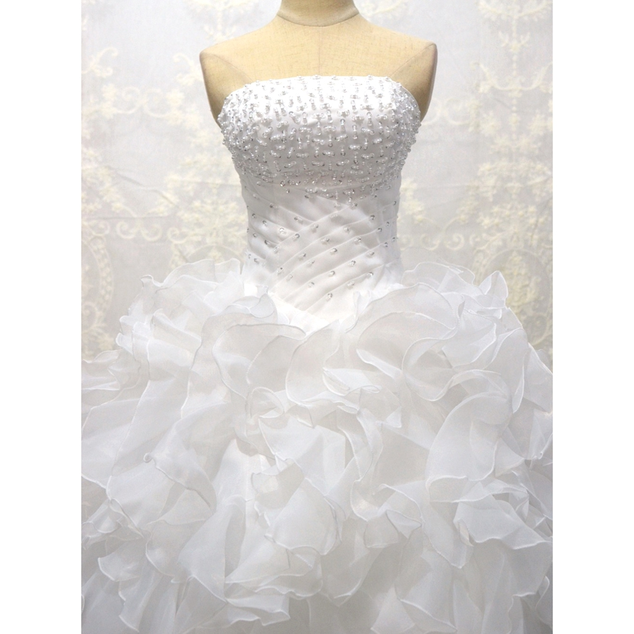 LOVSKYLINE Φτηνές στο νυφικό φόρεμα Vestidos De - Γαμήλια φορέματα - Φωτογραφία 4
