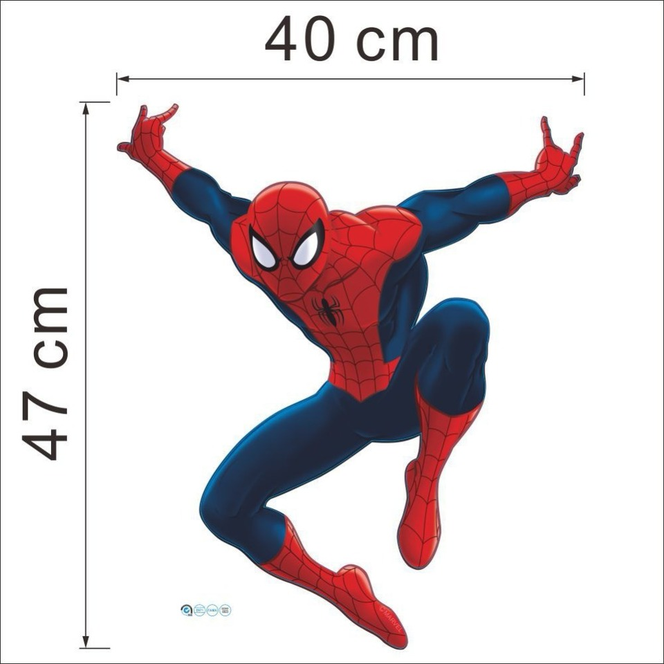 US $2 76 OFF Kids DIY 3D Spiderman Sticker Cartoon Children S Room Decoration Boy Waterproof Kindergarten Stickers Boys Decal Gift